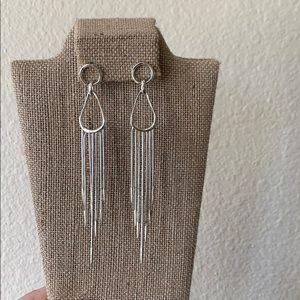Drop earrings silver Chloe & Isabel
